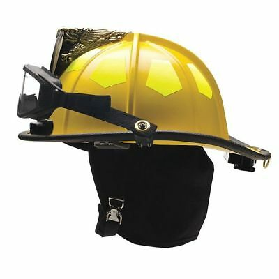 Fire Helmet,Black,Traditional BULLARD UM6BK6LGIZ2