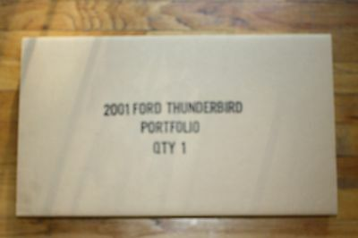 (NEW) 2001 Ford Thunderbird Coffee Table Collectors Portfolio