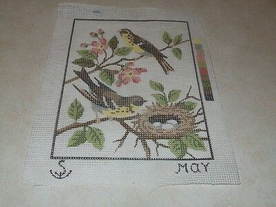 Tapestry Canvas - May - Birds