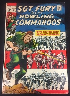Sgt. Fury And His Howling Commandos #67