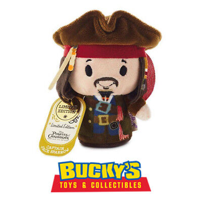 Disney Captain Jack Sparrow Pirates of the Caribbean Hallmark itty bitty bittys