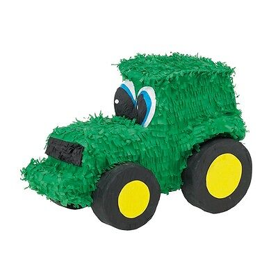 Green Tractor Farm Pinata Party Game Decoration