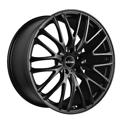 NEW  20X8.5 5/120 40P King Catalina Matte Black BY SIZE ~ WHEELS/RIMS ~ 20 Inch