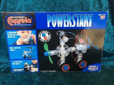 Rare Motorized Capsela 175 Power Start New in Box sold-out hard to find No.175