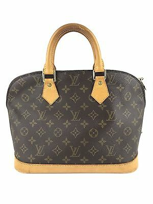 Authentic Louis Vuitton Alma Monogram Tote Handbag Bag
