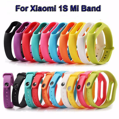2PACK Muti-color Strap Belt Bracelet Wristband Replacement For Xiaomi 1S Mi Band