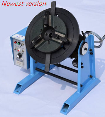 1~15RPM 30KG Duty Welding Positioner Turntable Timing with 200mm Chuck 220V A