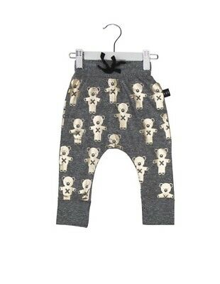 Huxbaby-SOLDIER BEARS DROP CROTCH PANT Size 2