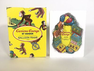 Curious George Picture Frame by Vandor 1997