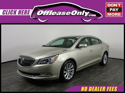 2015 Buick Lacrosse Leather FWD Off Lease Only Dark Chocolate Metallic 2015 BuickLaCrosseLeather FWD with 39262