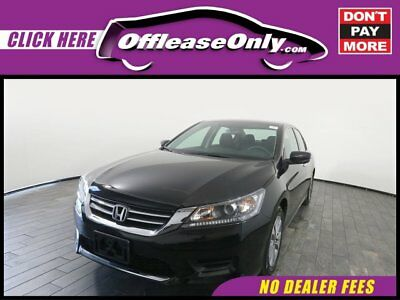 2014 Honda Accord LX FWD Off Lease Only Crystal Black Pearl 2014 HondaAccordLX FWD with 16884 Miles
