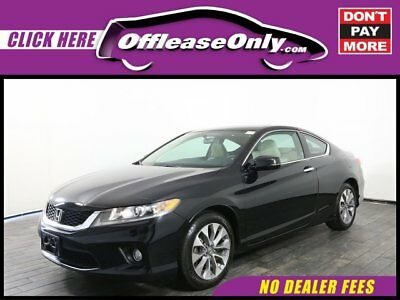 2014 Honda Accord EX Coupe FWD Off Lease Only Crystal Black Pearl 2014 HondaAccordEX Coupe FWD with 32892 Miles
