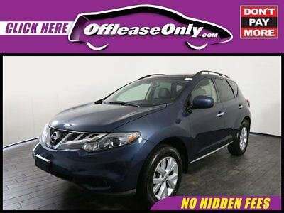2014 Nissan Murano SL AWD Off Lease Only Graphite Blue Metallic 2014 NissanMuranoSL AWD with 27965 Miles