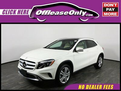 2017 Mercedes-Benz GLA-Class GLA 250 FWD Off Lease Only Cirrus White 2017 Mercedes-BenzGLA-ClassGLA 250 FWD with 17932 Mi