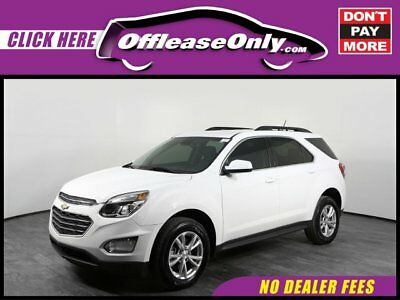 2017 Chevrolet Equinox 1LT AWD Off Lease Only Summit White 2017 ChevroletEquinox1LT AWD with 17549 Miles