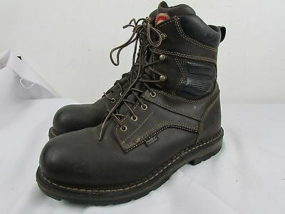 Irish Setter Red Wings Preowned Mens Work Boots 13 D Brown