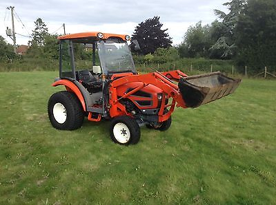 Compact Tractor front loader,Kioti CK25,small tractor