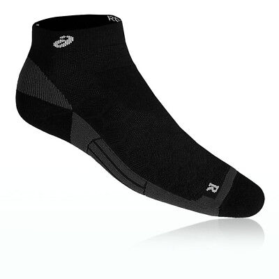 Asics Road Quarter Unisex Black Running Athletic Anklet Sports Socks
