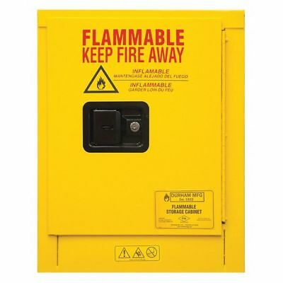 Safety Cabinet,Manual Close,4 gal.