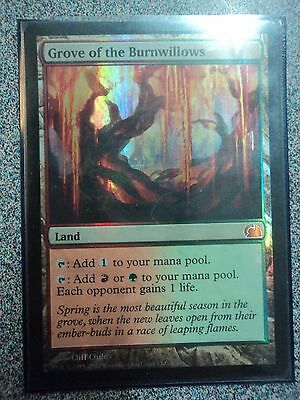 MTG 1x NM -FOIL- GROVE OF THE BURNWILLOWS FTV: REALMS MYTHIC RARE