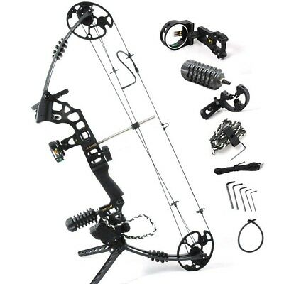 20-70 lbs Archery Compound Bows Hunting Bow Right Hand Shooting Targeting JJH