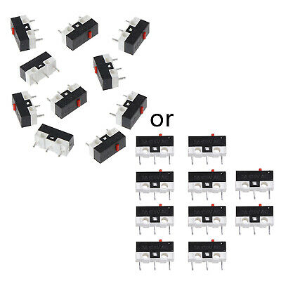 Lots Button Switch Mouse Switch 3Pin Microswitch For RAZER Logitech G700 Mouse