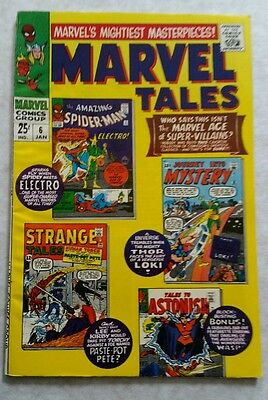 Marvel Tales #6 Jan 1967 VG+ condition