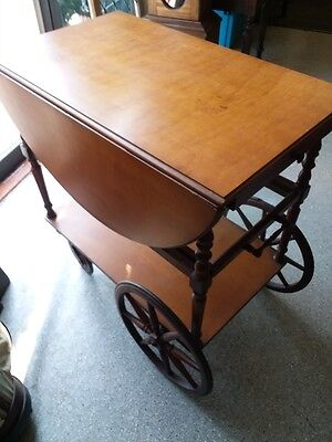 Exquisite Antique Tea Cart