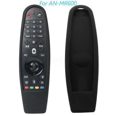 Silicone Rubber Remote Case for LG 3D Smart TV AN-MR600G Magic Remote Control