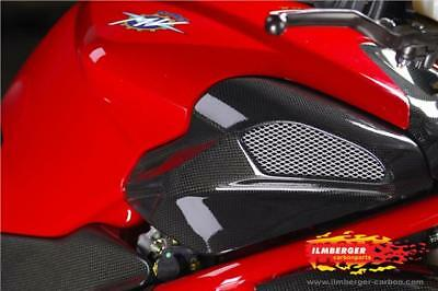 Ilmberger Carbon Fibre Airbox Intake Cover Panel Pair MV Agusta Brutale 750 2004