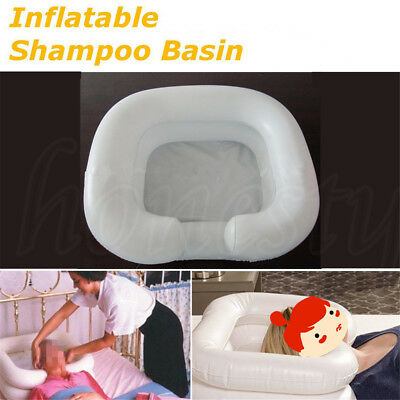Portable Shampoo Basin Inflatable Medical Patient Hair Wash Disability Bathing