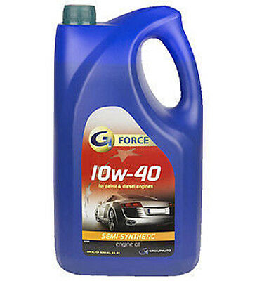 G-Force 10w - 40 Semi Synthetic Engine Oil 5L - GFW050