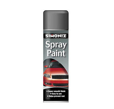 Simoniz Large Grey Primer Spray Paint 500ml