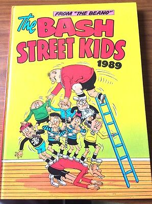 The Bash Street Kids Annual 1989 Vintage Comic Hardback Book