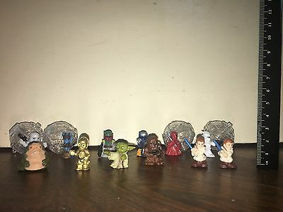 Star Wars Fighter Pods 12 Toy Figures, Comes With 4 Pods, Used