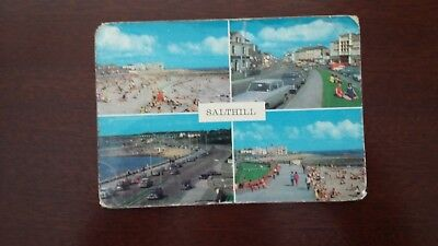 Views of Salthill - postcard