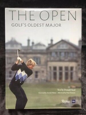 The Open: 150 Years of Golf's Oldest Major by Donald Steel - new & sealed