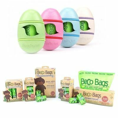 Beco Poop Bags Various Pack Sizes Eco friendly Biodegradable Dog Poo Waste Bags