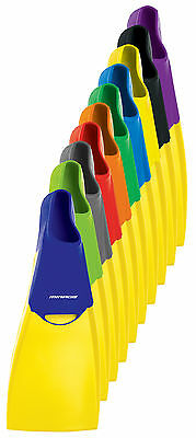 MIRAGE Deluxe Rubber Swim Fins - Children's Size 11-13 NEW - Swim Flippers - NEW