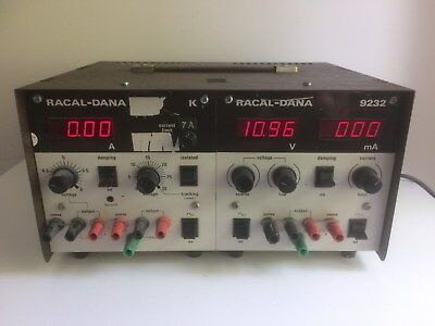 Vintage Racal - Dana Laboratory Power Supply Model Nos. 9232