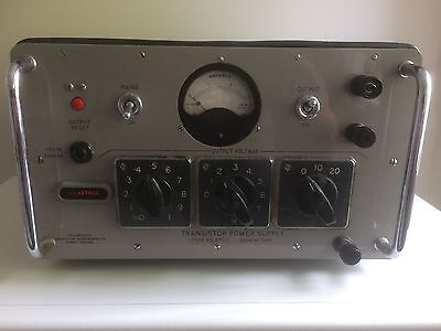 Vintage Solartron Transistor Power Supply Type AS 870.2
