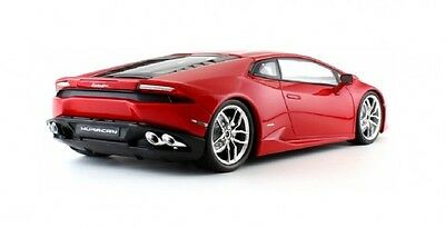 Lamborghini Huracan Lp610-4 Die Cast Scale Model Toy Supercar 1:24 Red Collect