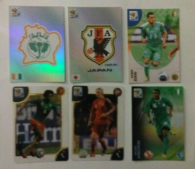 PANINI Premium FIFA World Cup South Africa 2010 lot of 29 cards.