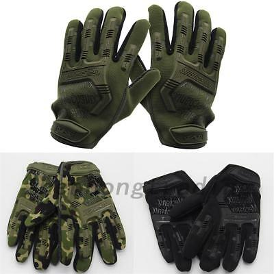 Outdoor Sport Full finger Military Tactical Hunting Cycling Soft Gloves AU Local