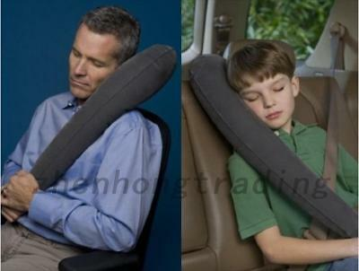 Portable Outdoor Travel Car Ultimate Inflatable Traveling PVC Sleep Pillow