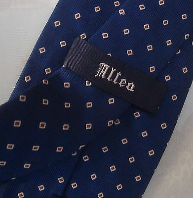 CRAVATTA UOMO (TIE)  ALTEA Milano MADE IN ITALY  New!  rare