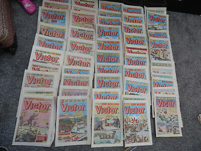 50 old victor comics in good condition for age