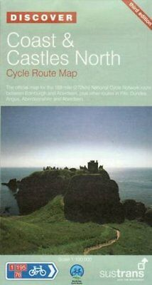 Coast and Castles North - Sustrans Cycle Routes Map: Sustrans Official Cycle Rou