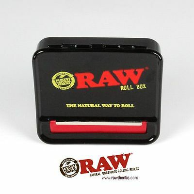 RAW BLACK AUTOMATIC CIGARETTE ROLLING MACHINE 70mm - RAW ROLLING PAPERS SMOKING
