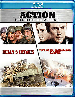 Kelly's Heroes/where Eagles Dare (New Blu-Ray)